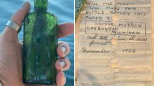 Michigan, recuperato messaggio in bottiglia lanciato nel fiume Cheboygan nel 1926