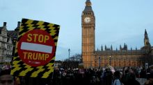 Many Brits unhappy with prospect of Trump visit