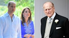 Prince William and Kate Middleton Honor 'Devoted' Prince Philip After His Funeral