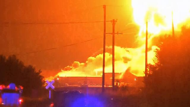Okla. chemical plant fire cause sought