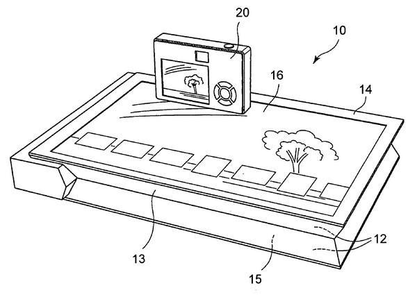 Patent app for touchscreen printer from Sony Surfaces