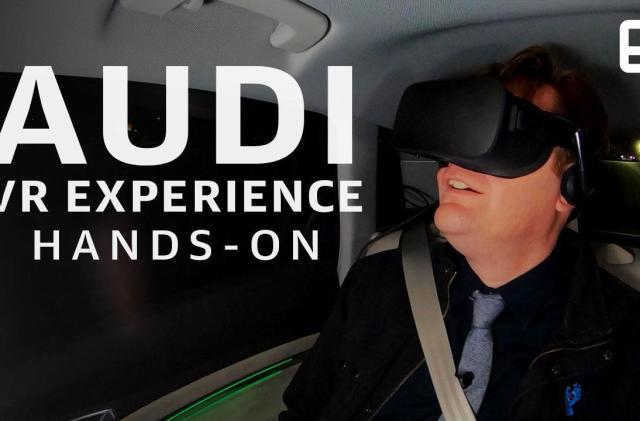 Audi puts VR in the backseat
