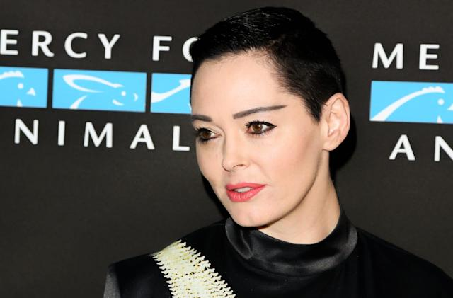 Twitter suspends Rose McGowan's account (updated)