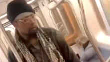 Police arrest suspect who kicked a 78-year-old woman in the face on the subway in shocking video