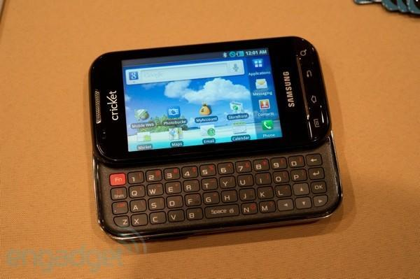 Cricket teases CDMA-only Samsung Indulge, Huawei Ascend 2 at CTIA (hands-on)