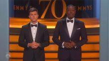 El monólogo de apertura de los Emmy: Una burla en contra de Hollywood