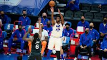Philadelphia 76ers beat Brooklyn Nets to claim Eastern Conference top spot