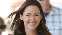 Jennifer Garner Breaks House Rules By Dancing on Counters in Ripped Jeans + Sneakers