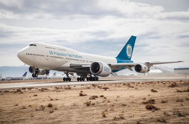 GE test-flies the world's largest jet engine