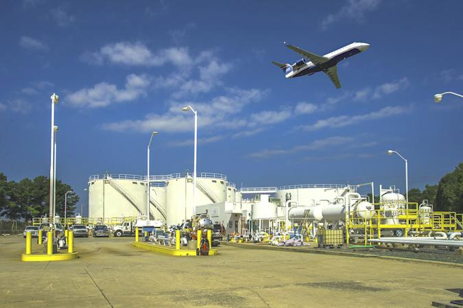 Colonial Pipeline airport delivery of fuel
