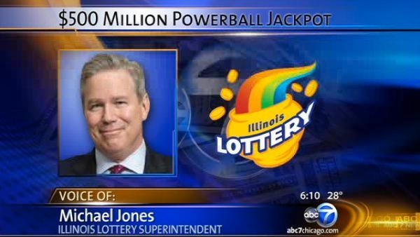 Illinois Lottery Superintendent on the $500M Powerball drawing