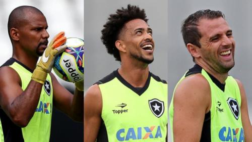 Com folga no calendário, Botafogo trabalha para ter o grupo completo