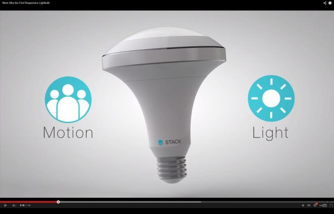 Beinahe smarte LED-Lampe dank Bewegungs- und Lichtsensoren (Video)