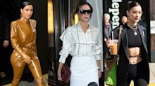 Kim Kardashian, Bella Hadid and Victoria Beckham showcase impressive quarantine style: Get the look