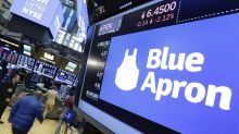 Blue Apron's stock nears NYSE danger level