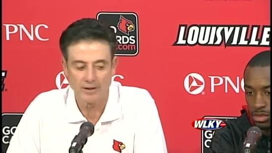 Complete statement: Pitino on Smith's future