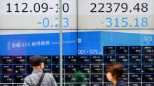 Asian shares buckle to Saudi anxieties, Italian budget rows