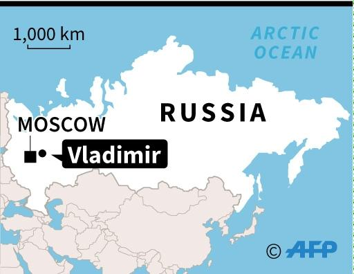 Vladimir Russia Map.At Least 19 Killed In Train Bus Collision In Russia Authorities