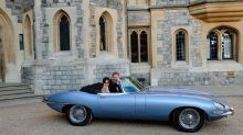 How the Jaguar E-type Concept Zero was the perfect choice for the Royal wedding - A British classic with a modern twist