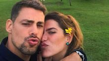 Cauã Reymond e Mariana Goldfarb já estariam casados no civil