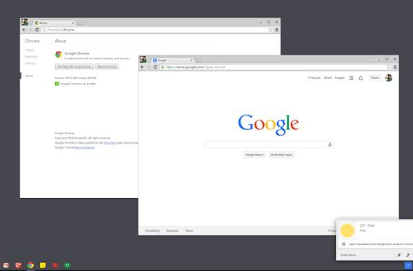 Google is bringing the Chrome OS desktop to Windows 7