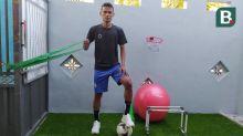 Liga 1: Bek Arema FC Membuat Area Berlatih Khusus di Rumah