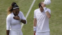 Serena Williams, Andy Murray fall to No. 1 doubles duo Bruno Soares, American Nicole Melichar at Wimbledon