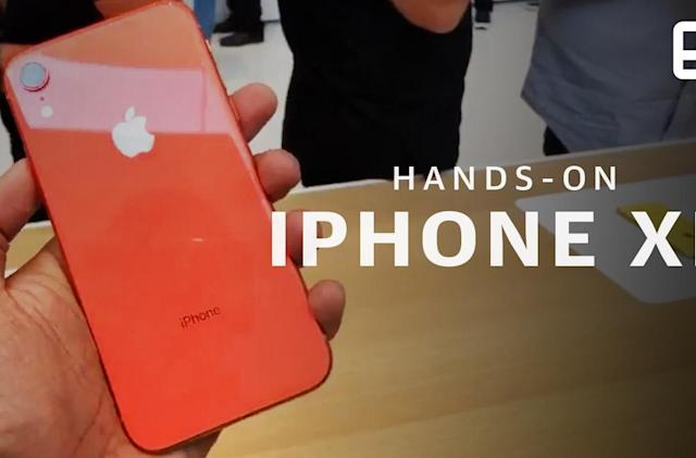 iPhone Xr hands-on: Premium power for everyone