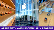 Apple Fifth Avenue officially reopens