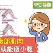 1分鐘躺著喚醒腹部肌肉,骨盆、內臟回正就能瘦小腹