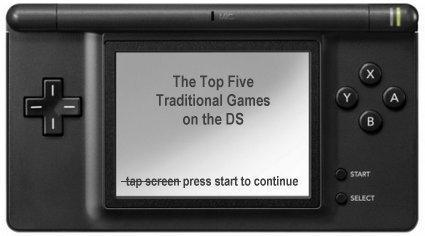 """The top five """"traditional"""" DS games"""