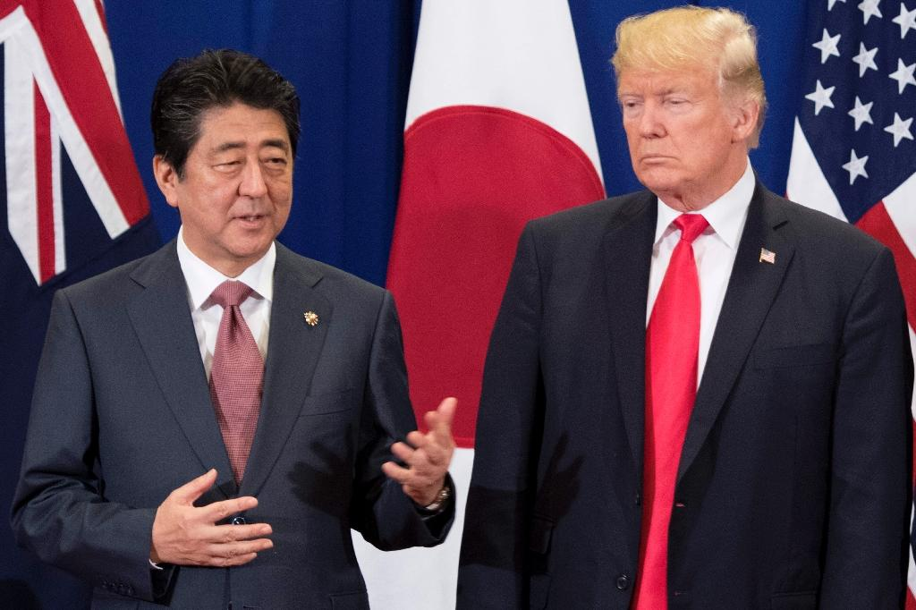 The planned meeting at US President Donald Trump's Mar-a-Lago resort on April 17-18 will be his third with Japan's Prime Minister Shinzo Abe