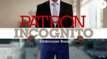 Patron Incognito: Un DG refuse de se grimer comme prévu, la prod' change de plan