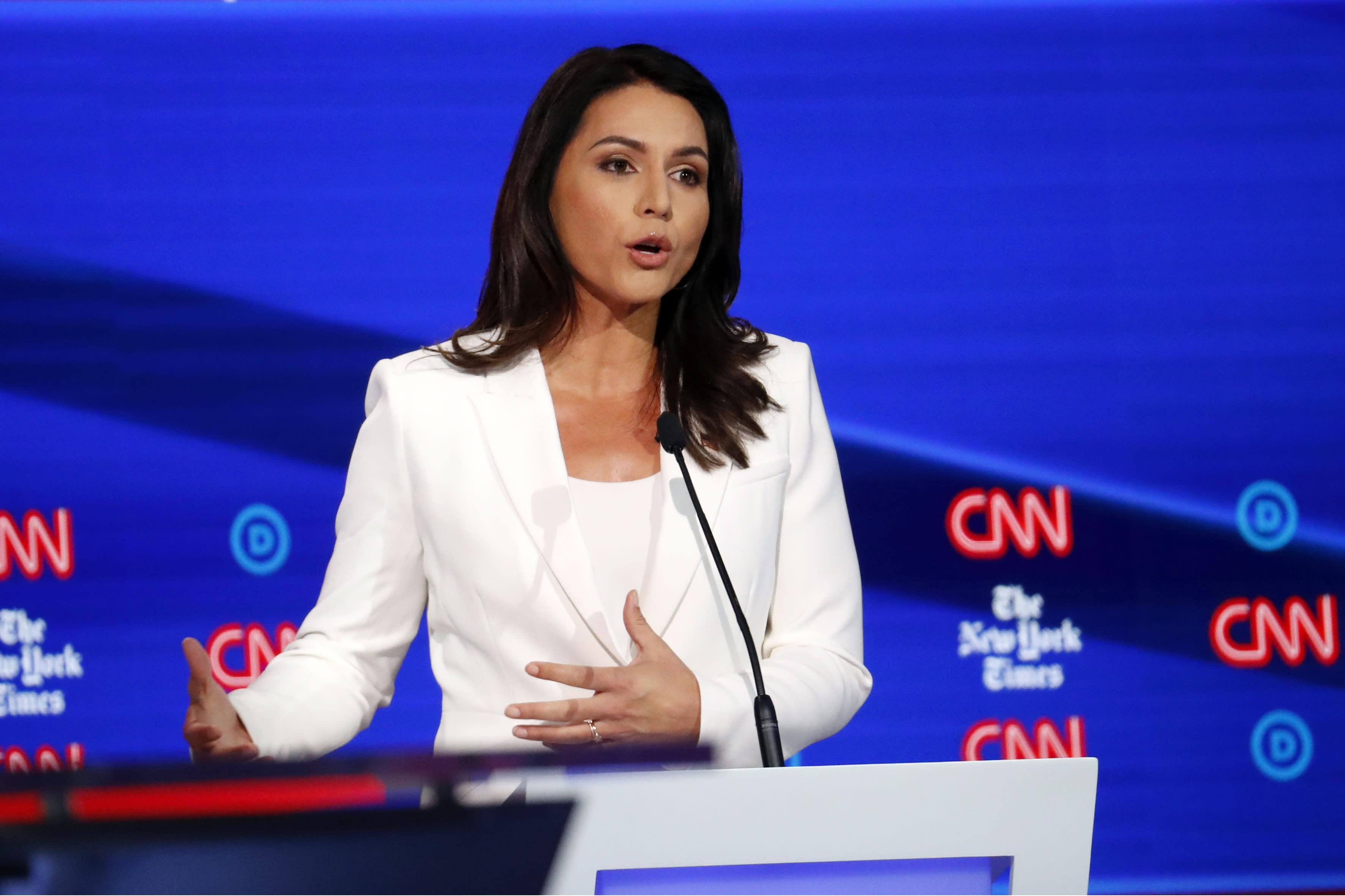 New York Election 2020.Correction Election 2020 Gabbard Clinton Story