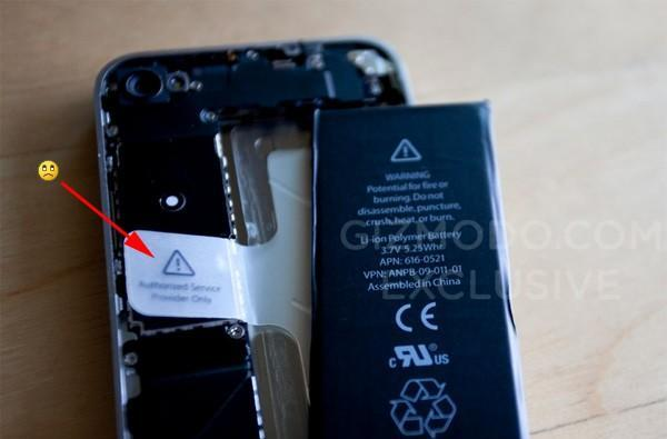 Next-gen iPhone splayed, battery probably not meant to be replaced by the unwashed masses