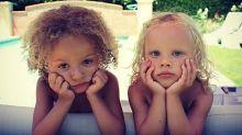 Partorisce due gemelli, ma uno dei due è nero