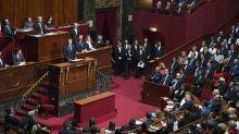 Le discours de Macron devant le Congrès boycotté par des députés