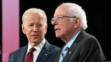 Biden won't commit to backing Sanders if he's the Democratic presidential nominee