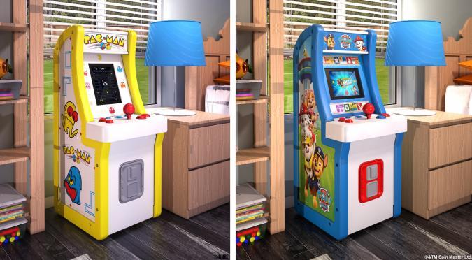 Arcade1Up Jr. Pac-Man and PAW Patrol arcade machines