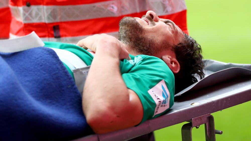 Werder Bremens Garcia kommt mit Halswirbelsäulen-Prellung davon