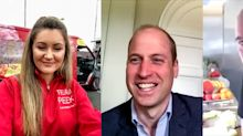 Prince William admits 'hardest time is dinner time' with three children at home