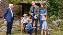George, Charlotte and Louis speak on camera for the first time in David Attenborough video