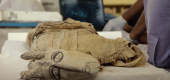 A new Netflix documentary highlights the discovery of more than 3,000 artifacts in Saqqara, an ancient Egyptian city south of Cairo. (Netflix)