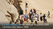 Egito abre ao público duas novas pirâmides