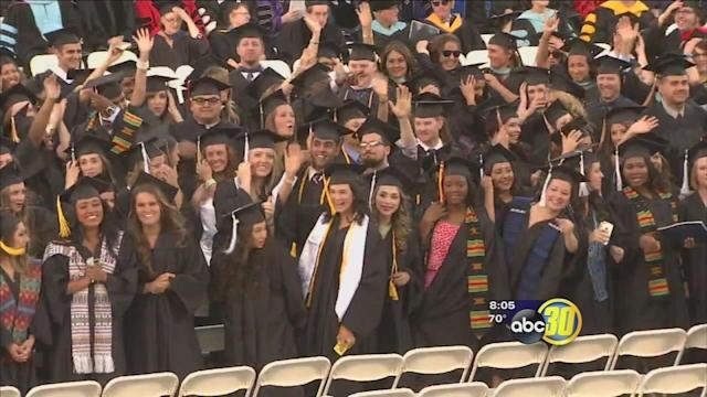 FPU holds commencement ceremony at Chukchansi Park