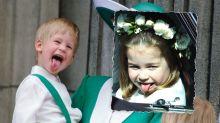 Prinzessin Charlotte: So frech wie ihr Onkel Harry