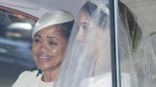 El exquisito y sencillo vestido de novia de Meghan Markle