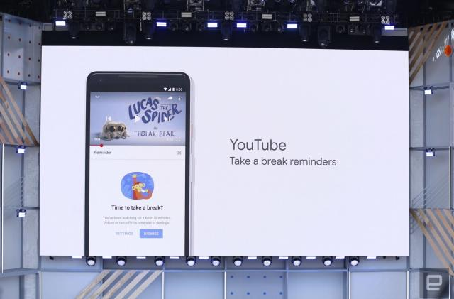 Android and YouTube will help you manage screen time