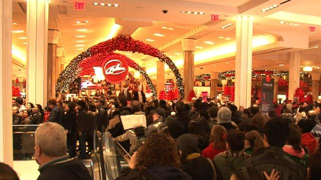 Black Friday shoppers get early start