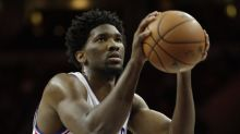 Joel Embiid wasn't happy his minutes limit kept him from a second OT